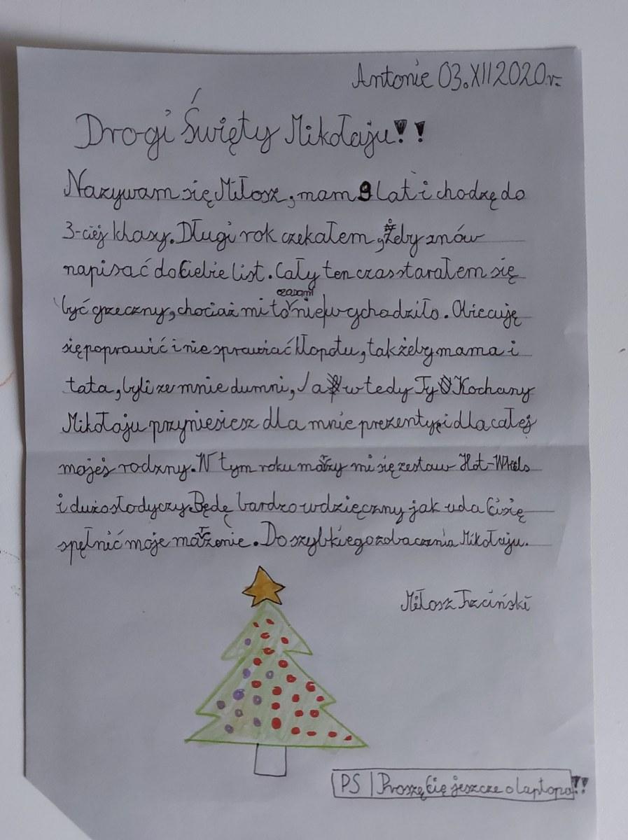 Milosz-list